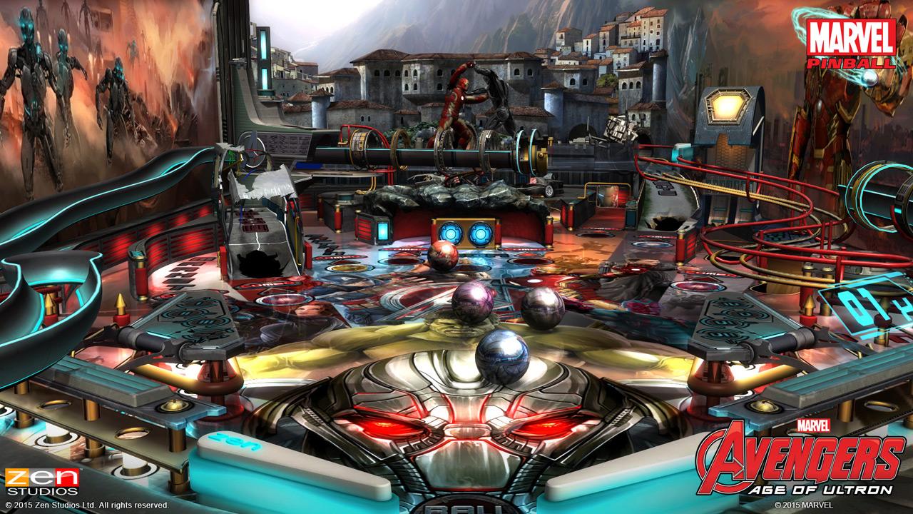 marvel pinball marvel s avengers age of ultron zen studios